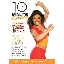 10 min latin dance